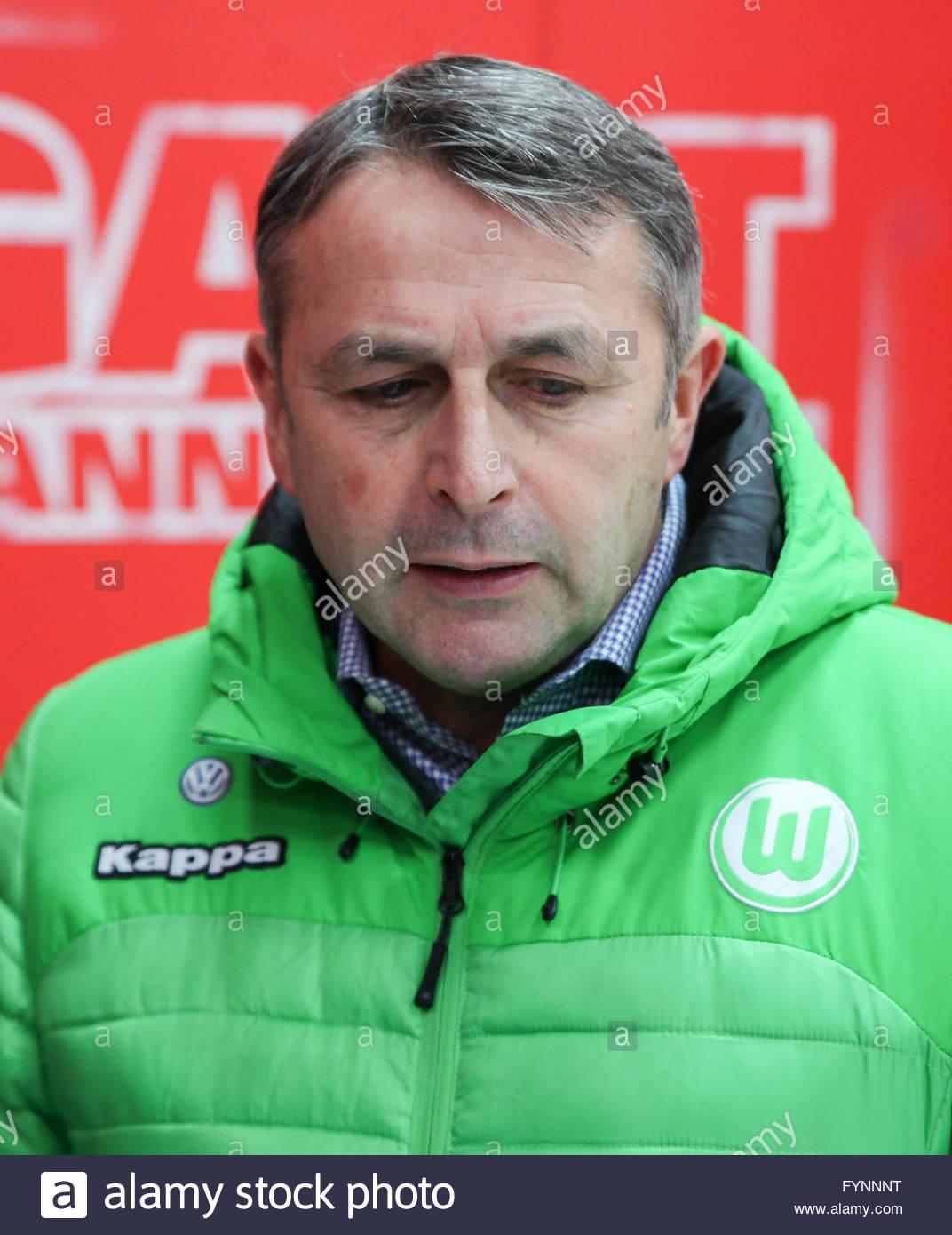Klaus Allofs (VfL Wolfsburg) Stock Photo
