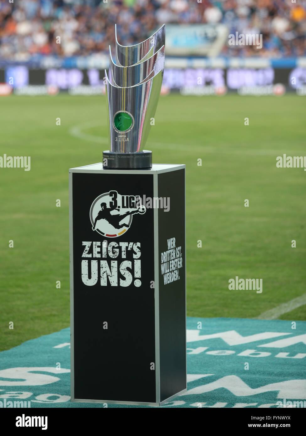 3.Liga DFB Cup Champion - Stock Image