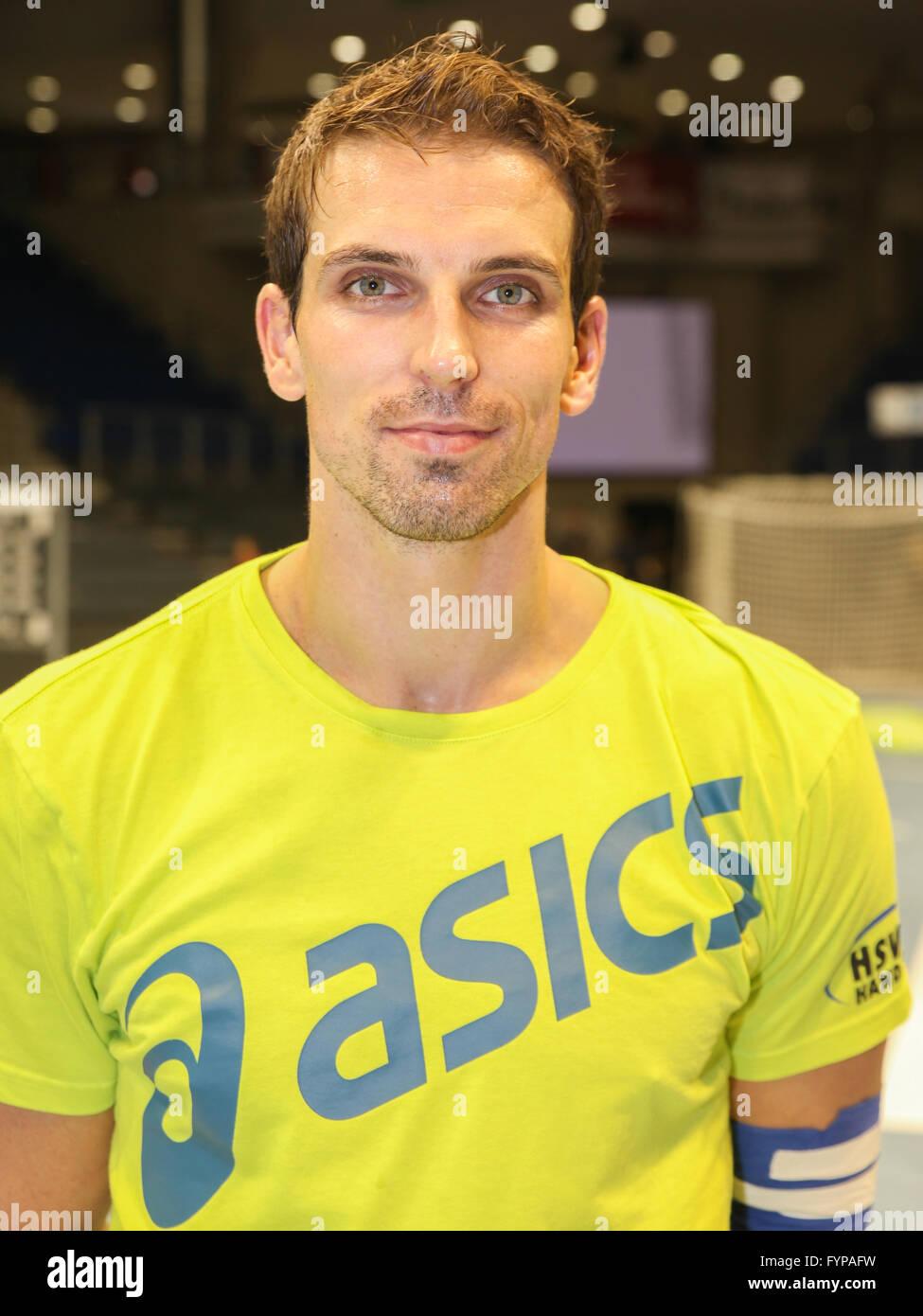 Adrian Pfahl (HSV) - Stock Image