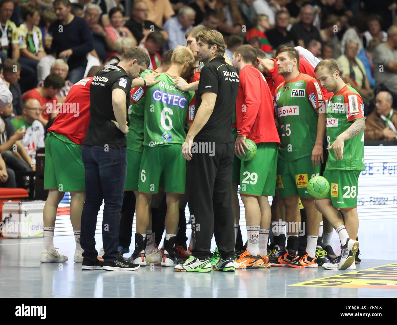 SC Magdeburg - HSV Handball - Stock Image