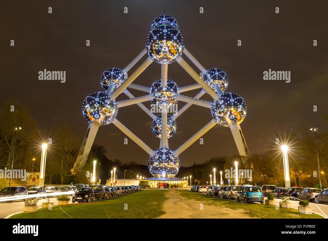 Atomium Brussels Belgium - Stock Image