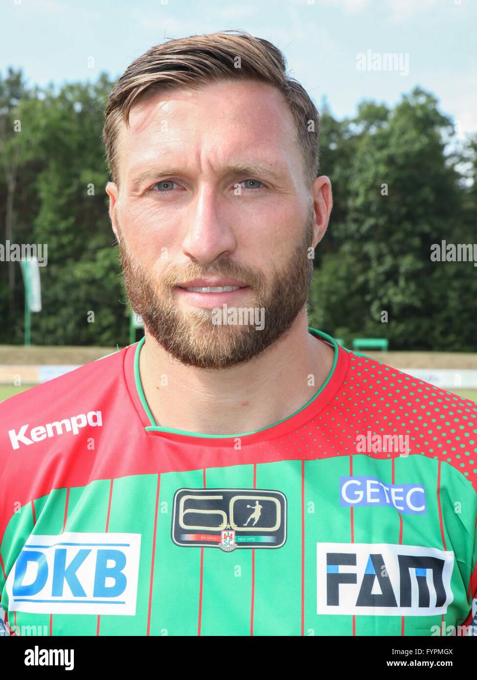 Fabian van Olphen (SC Magdeburg) - Stock Image