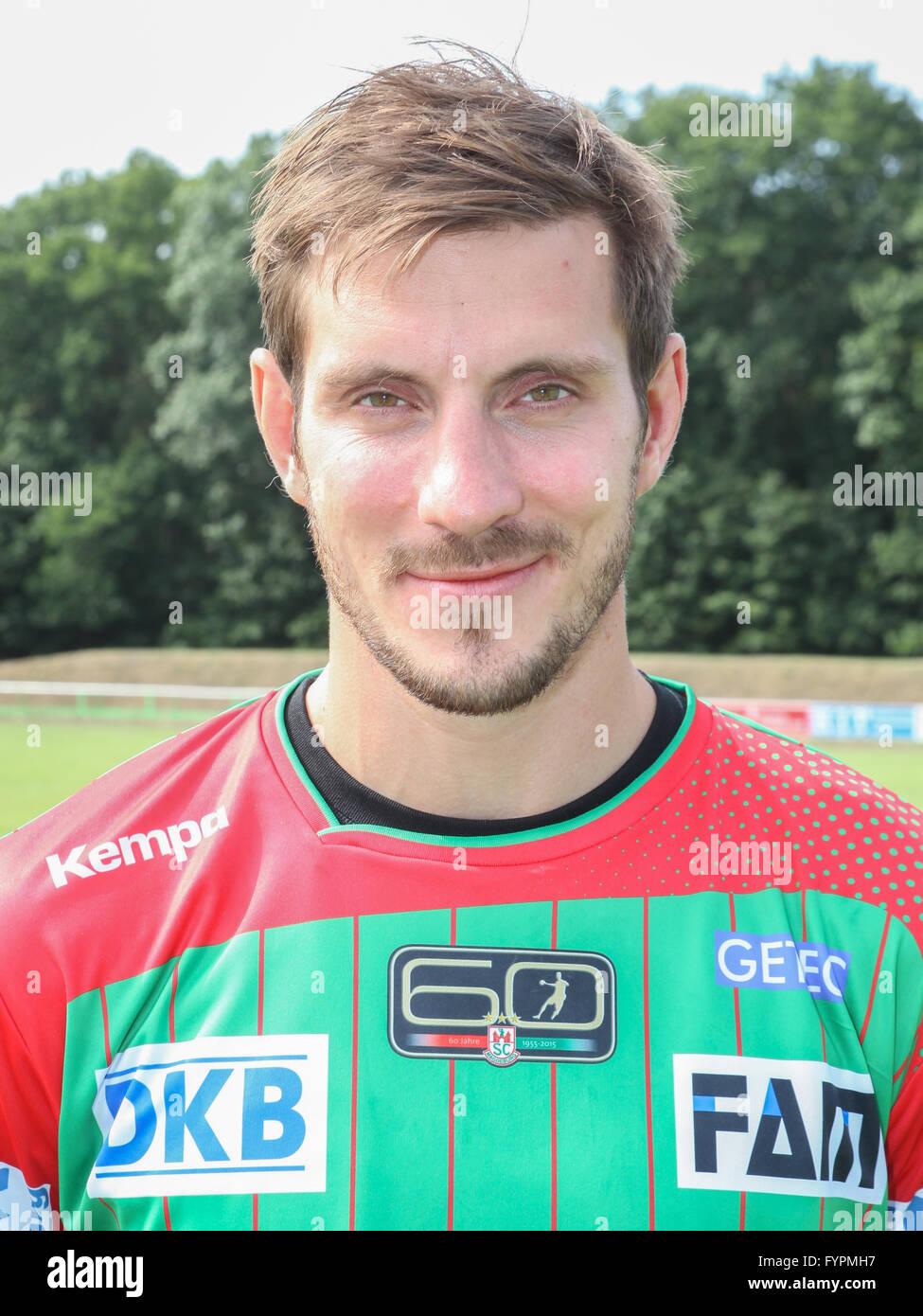Michael Haaß (SC Magdeburg) - Stock Image