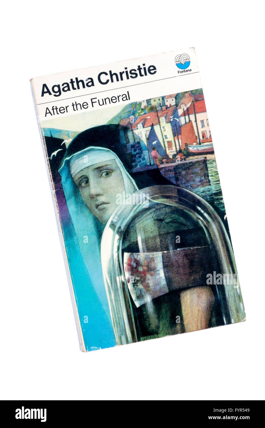 Collins paperback edition of After the Funeral by Agatha Christie.  First published in 1953. - Stock Image
