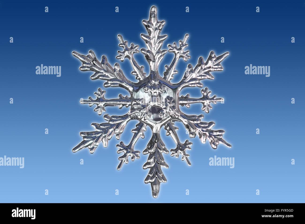 Snowflake - Stock Image