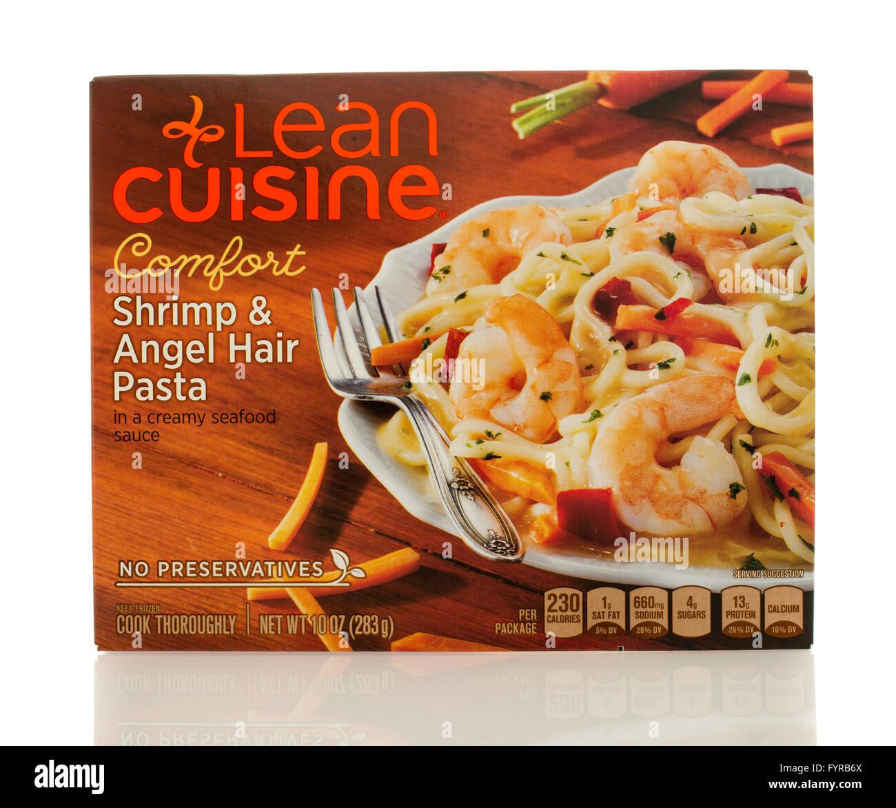 Winneconne Wi 2 March 2016 A Box Of Lean Cuisine Shrimp Angel