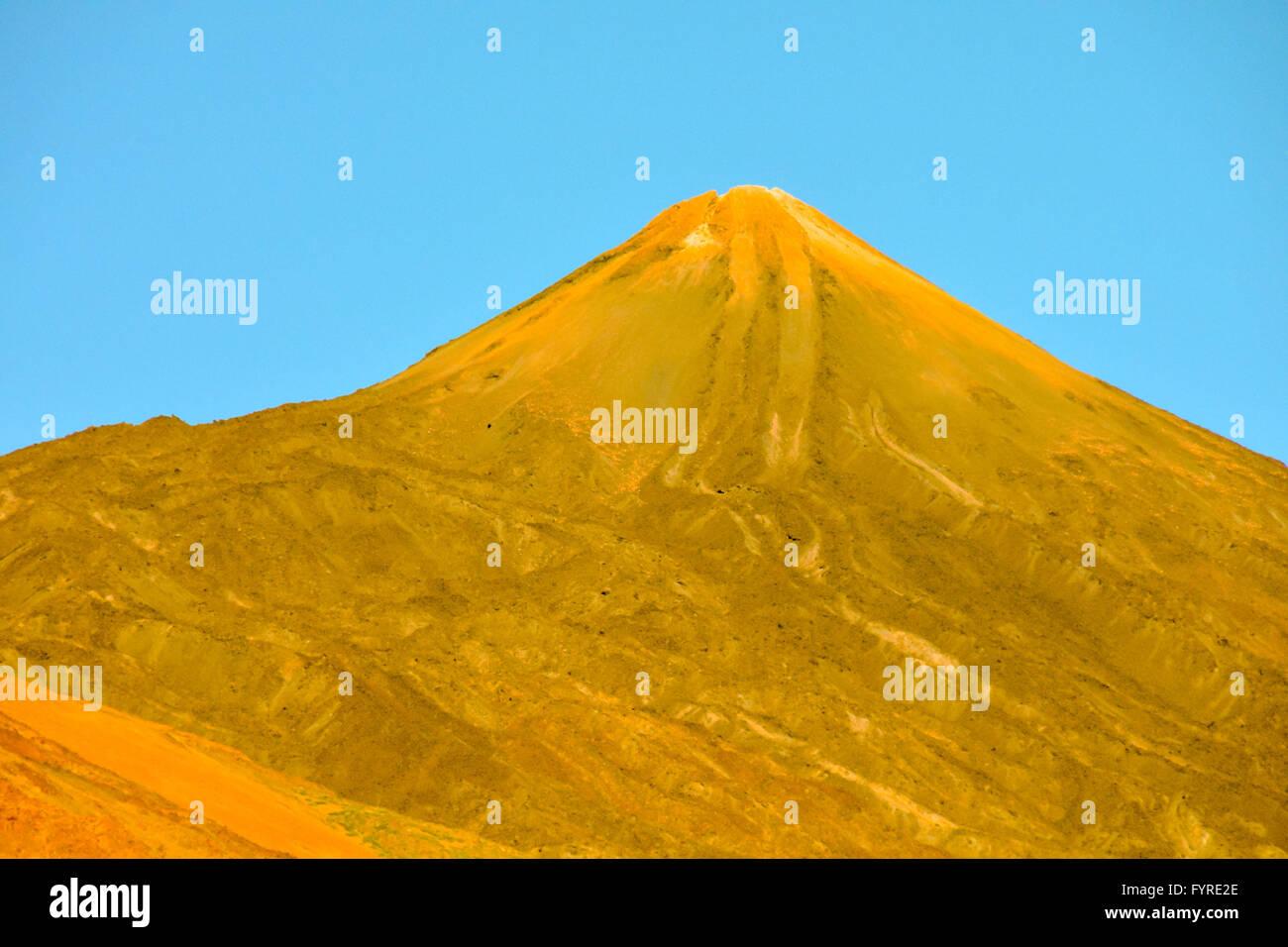 Volcan Basaltic Mountain - Stock Image