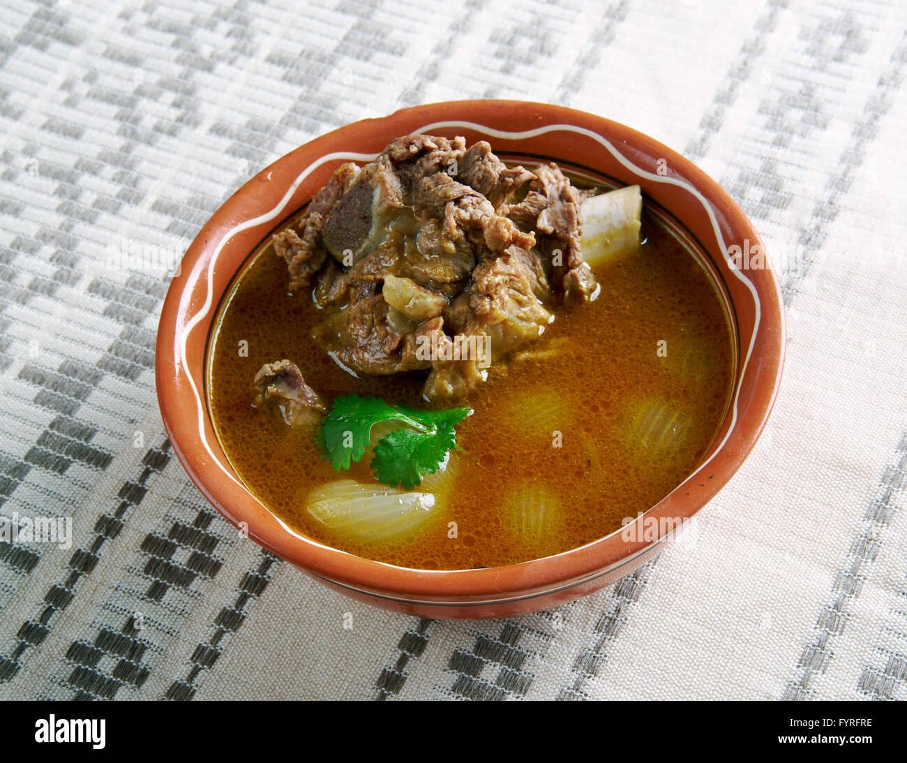 Mutton Paya Pakistani soups - Stock Image