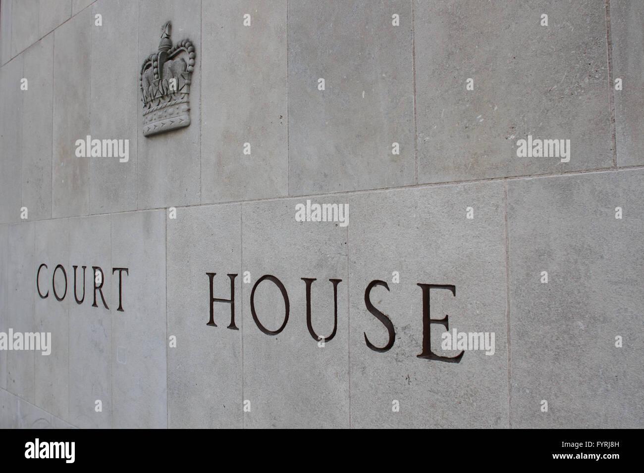 The Toronto Courthouse in Ontario. - Stock Image