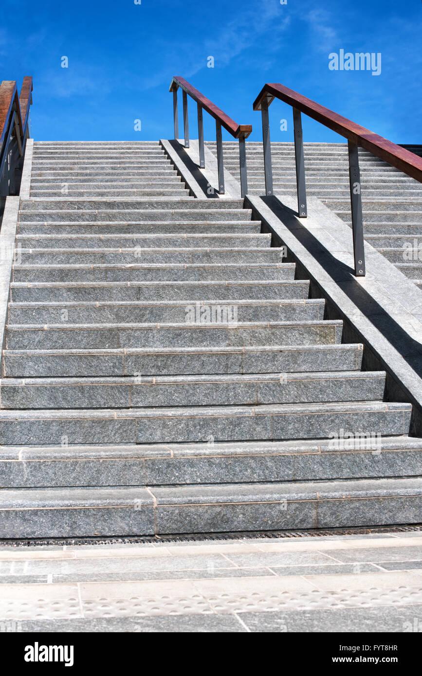Merveilleux Exterior Urban Concrete Staircase Stock Photo: 103181171   Alamy