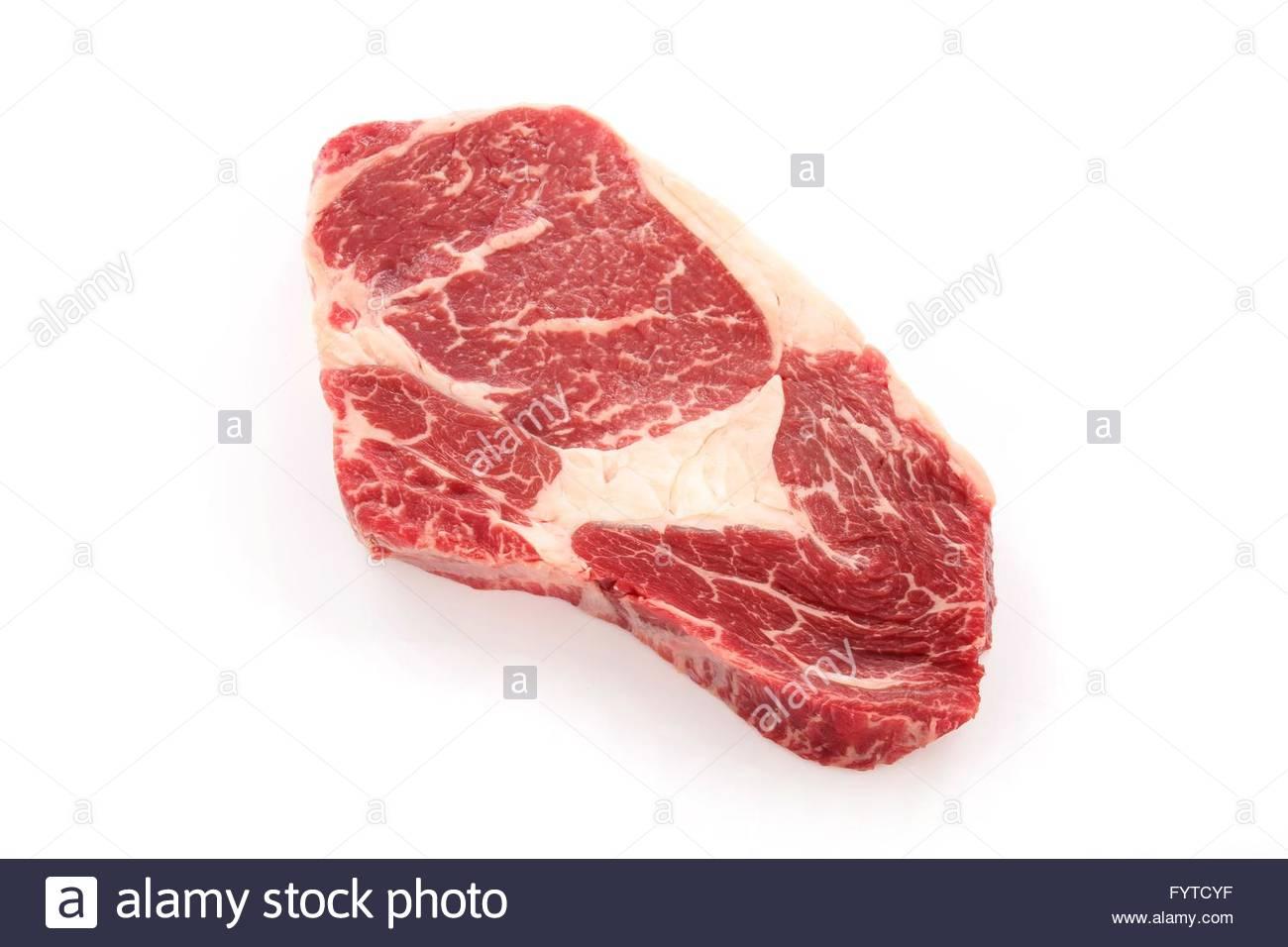 aged ribeye steak Stock Photo