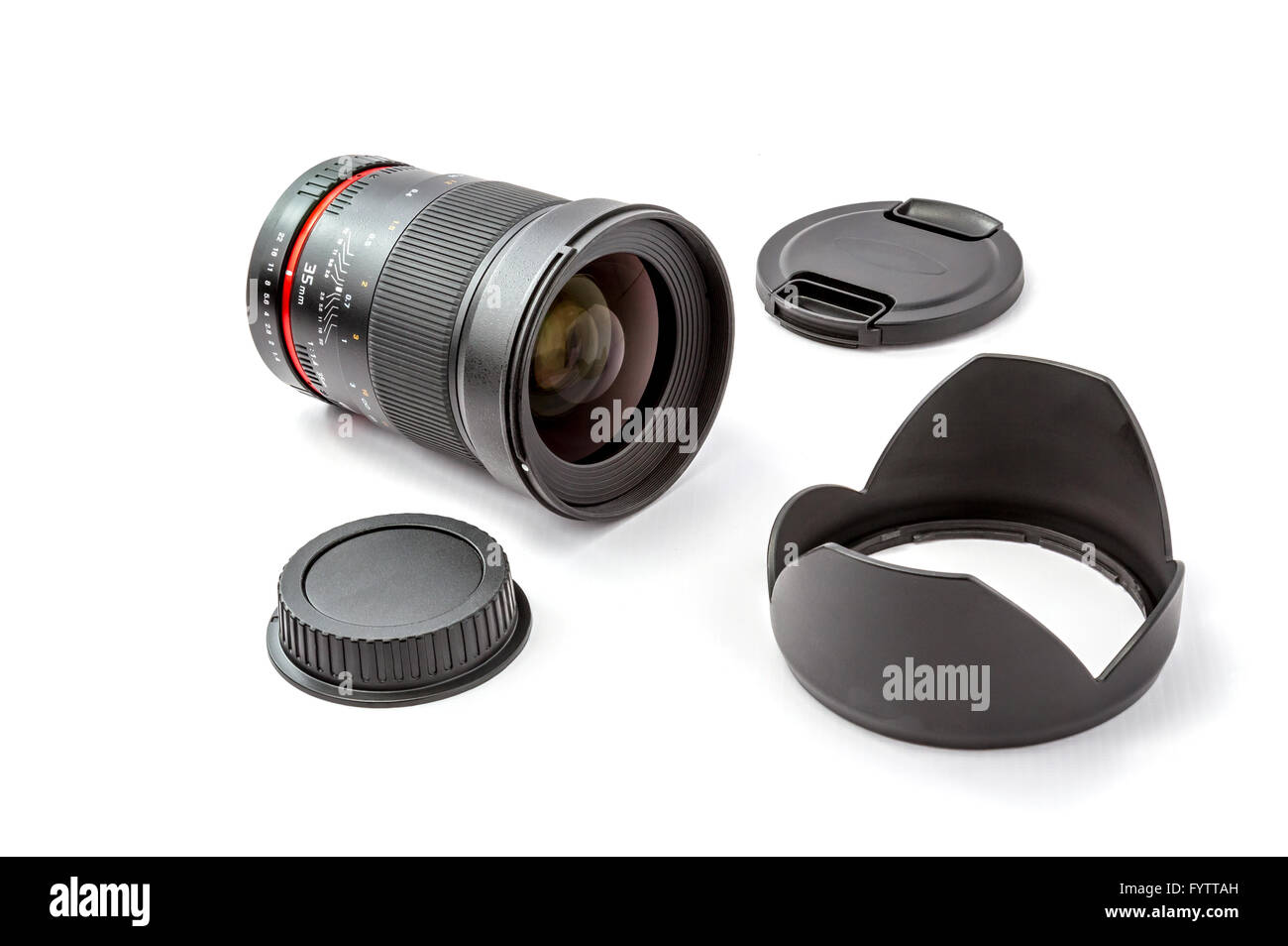 Lens for SLR camera - Stock Image