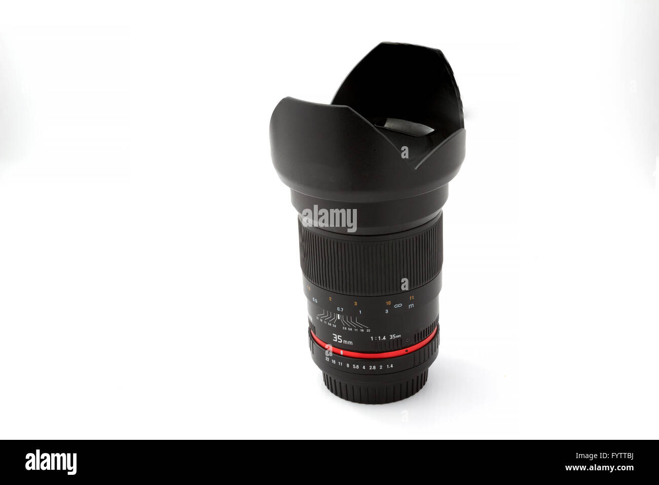 Lens for SLR camera - Stock Image