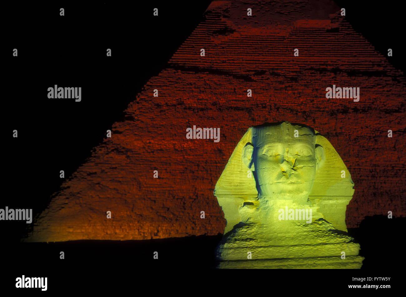 AFRICA EGYPT CAIRO GIZA PYRAMIDS - Stock Image