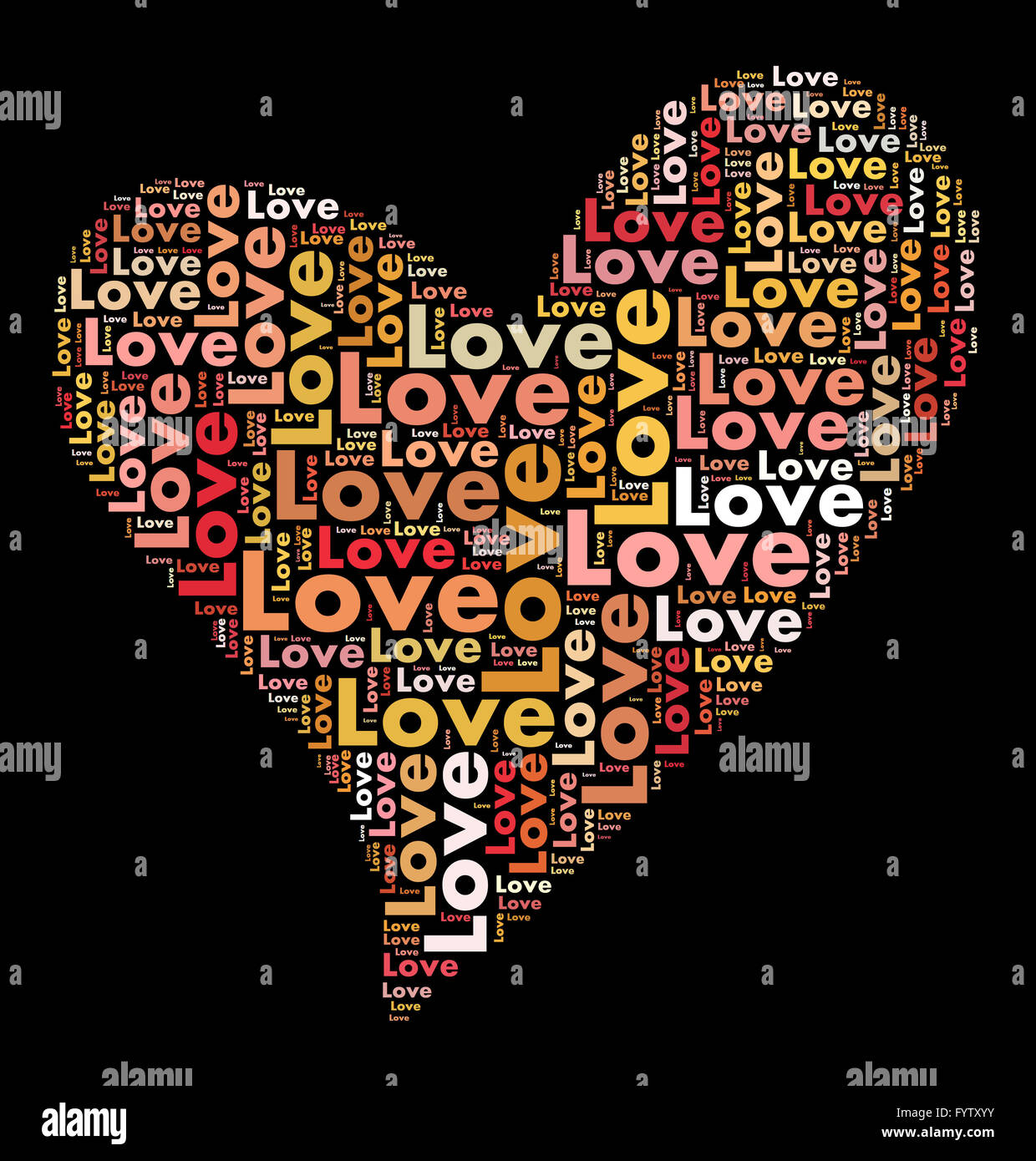 valentines day card word cloud concept stock photo 103195567 alamy