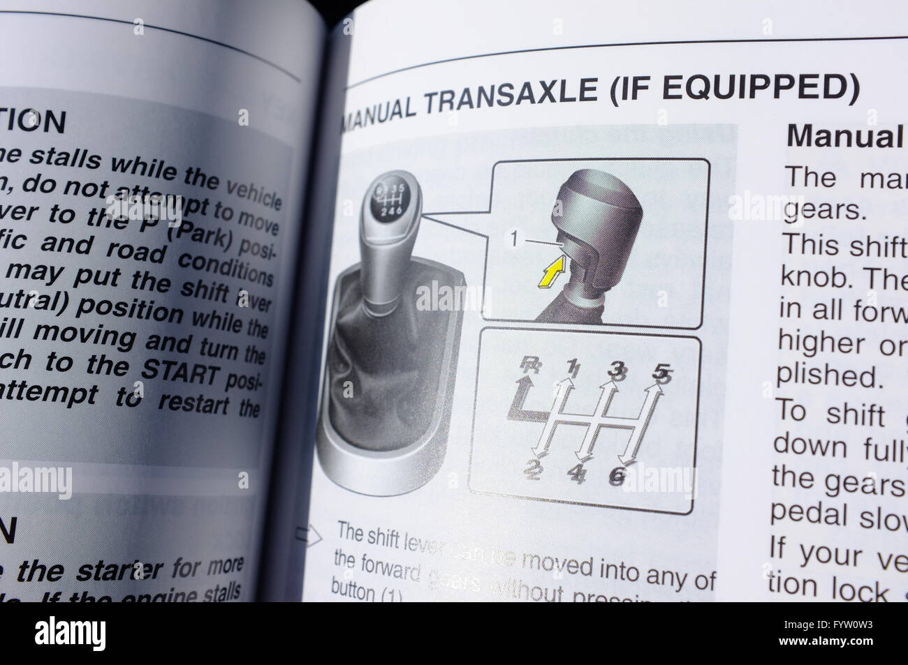 Hyundai Owners Manual Stock Photos Accent Schematic A Transaxle Illustraionin Image