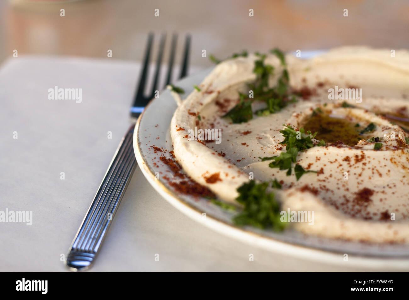 humus - Stock Image
