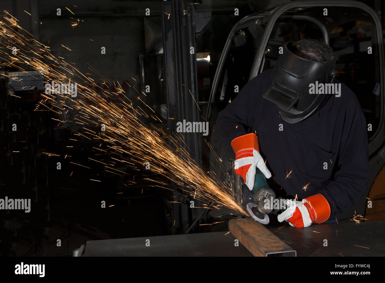 heavy industry - Stock Image