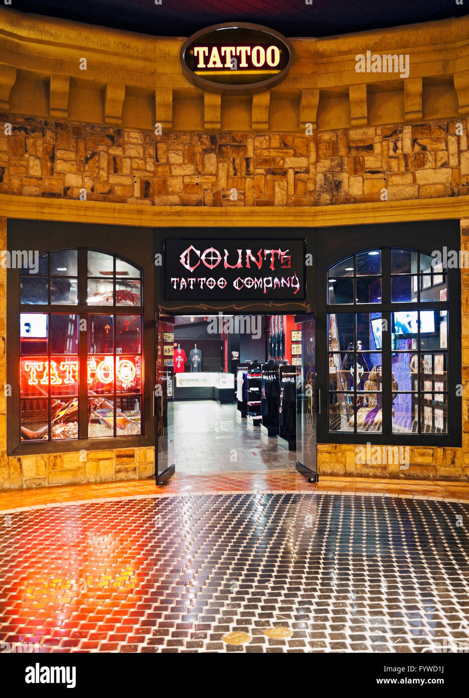 The Count S Tattoo Company Inside Of The Rio Hotel And Casino In Las