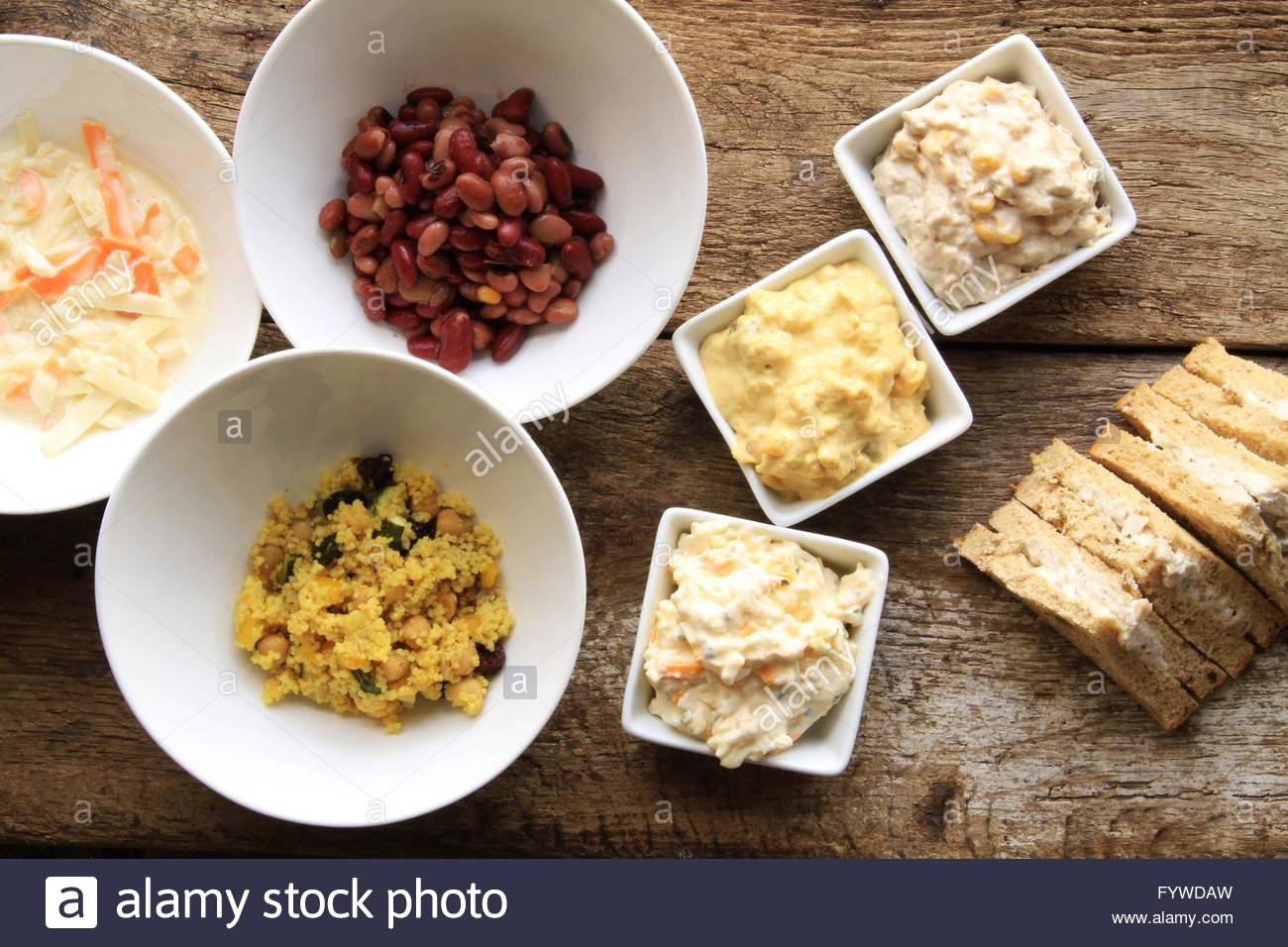 sandwich fillings - Stock Image