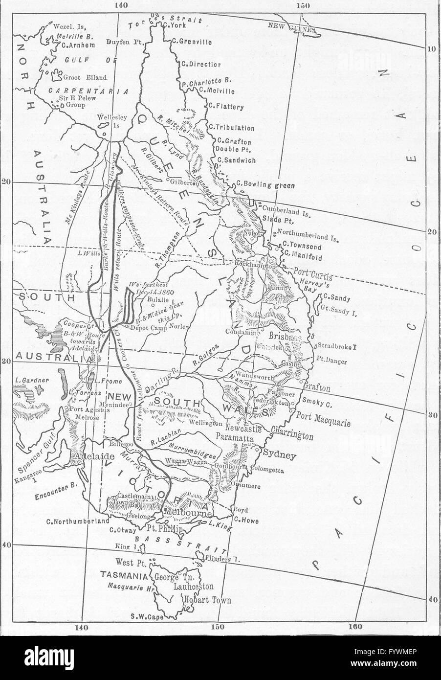 Australia Map Black And White.Australia Map Black And White Stock Photos Images Alamy