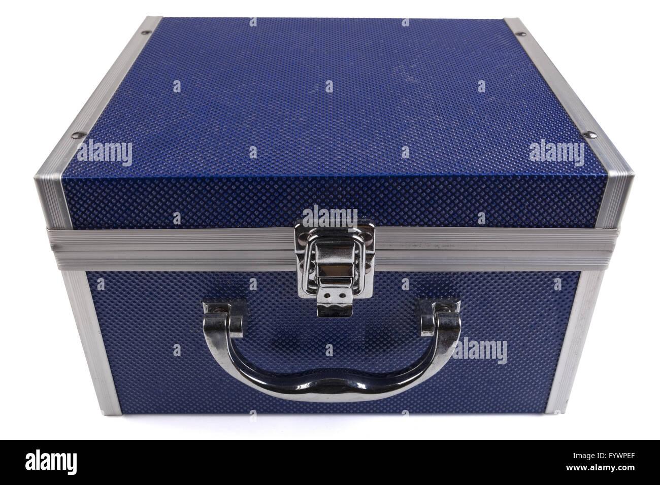 Blue Box - Stock Image