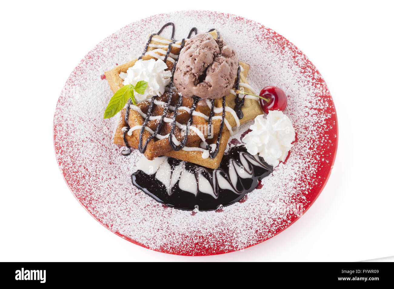 Full Plate - Stock Image