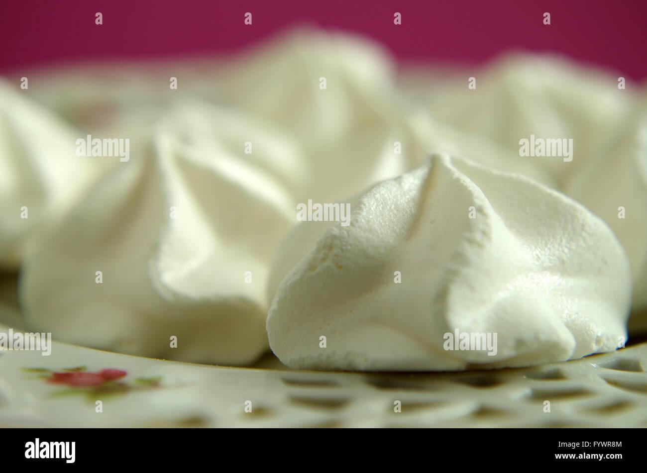 meringue - Stock Image