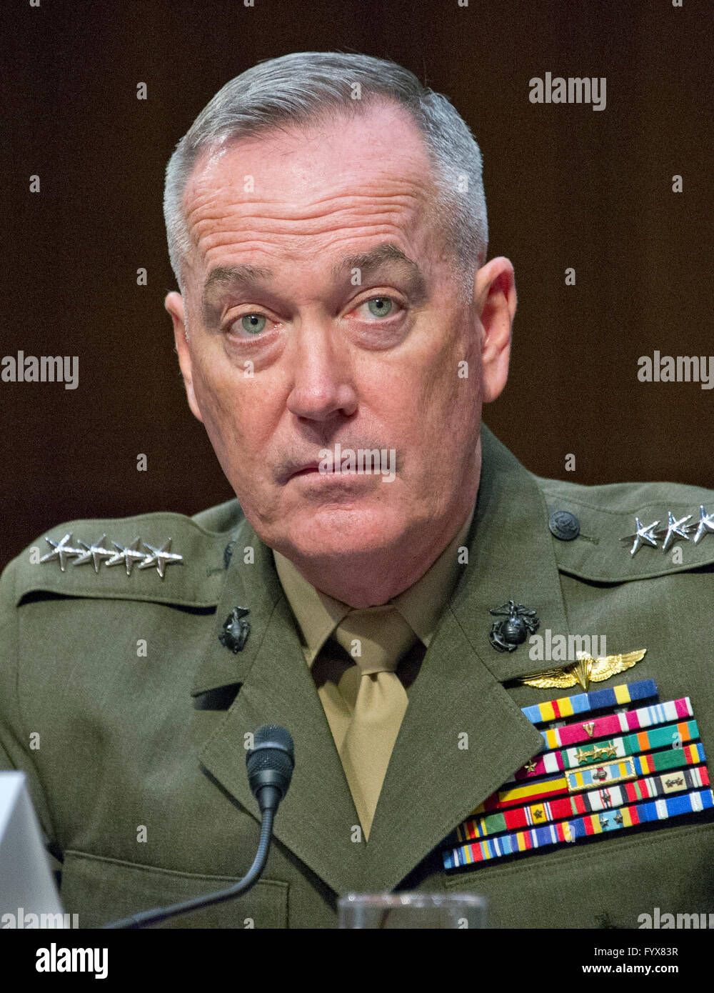 general joseph f dunford jr usmc chairman of the joint chiefs