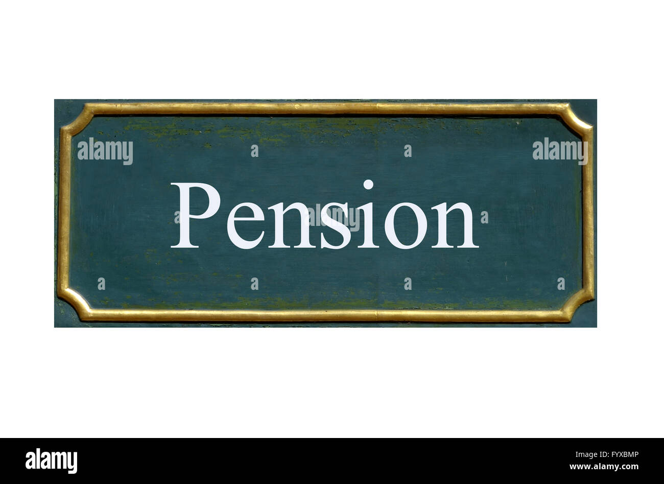 shield pension - Stock Image