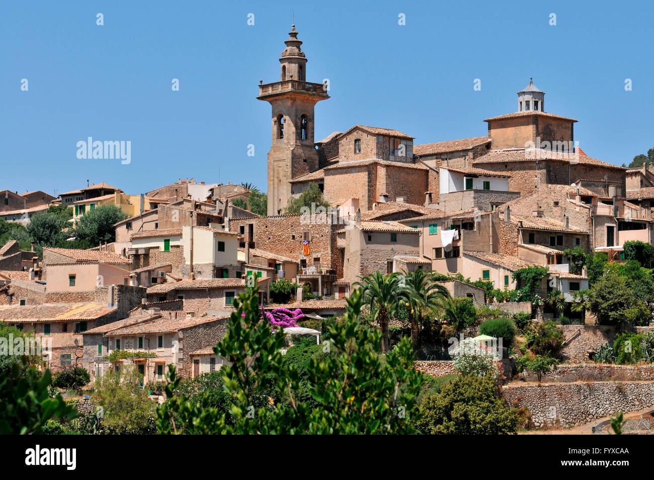 Valldemossa, Mallorca, Spain - Stock Image