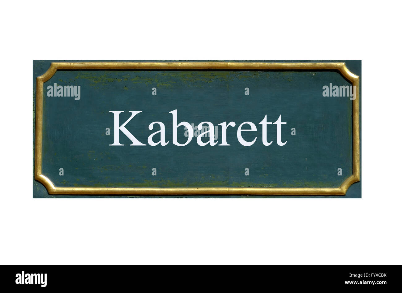 shield cabaret Stock Photo