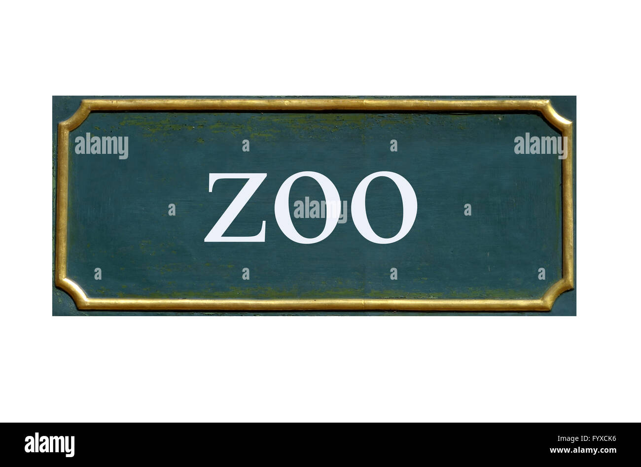 shield zoo Stock Photo