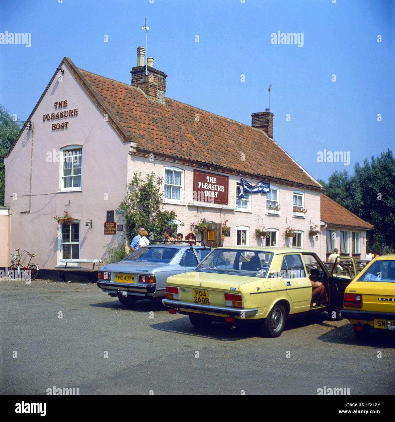The Pleasure Boat Inn, Hickling, Norfolk, England - Stock Image