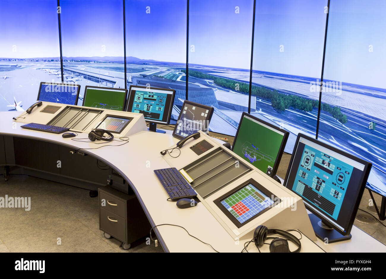 Air Traffic Services Authority - Stock Image