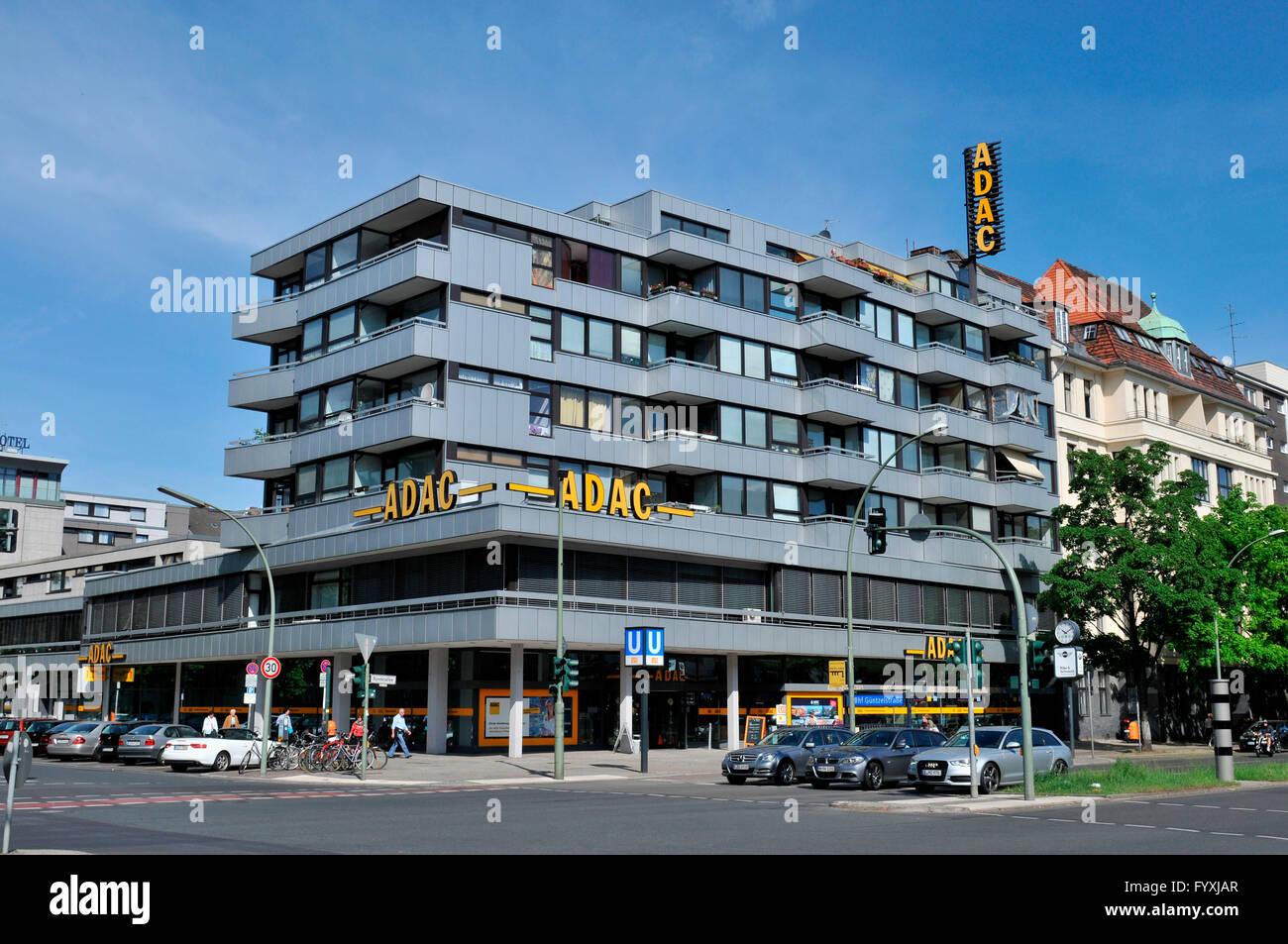 ADAC headquaters, Bundesallee, Wilmersdorf, Berlin, Germany - Stock Image