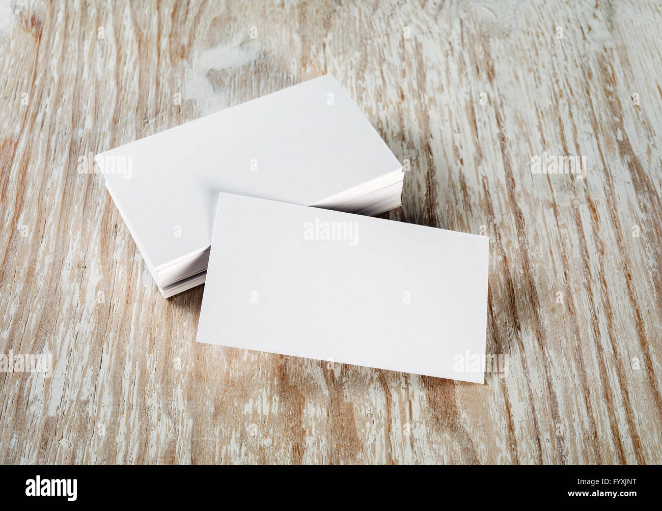 Business card blank mockup stock photos business card blank mockup blank business cards stock image reheart Image collections