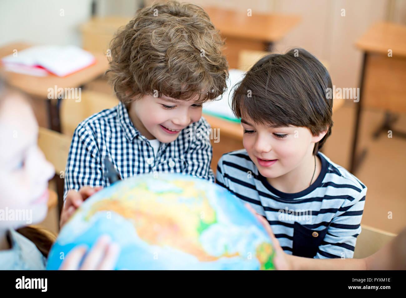 Schoolboys - Stock Image