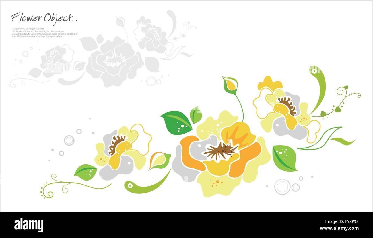 Flower Object 23 - Stock Image
