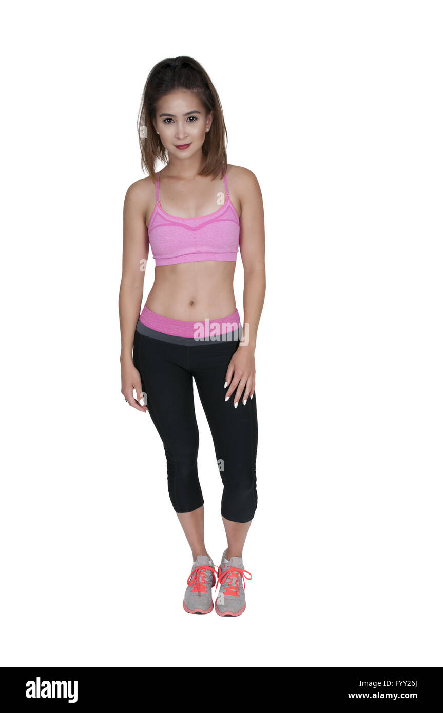 14b6de65a Beautiful Woman in workout clothes Stock Photo: 103242010 - Alamy