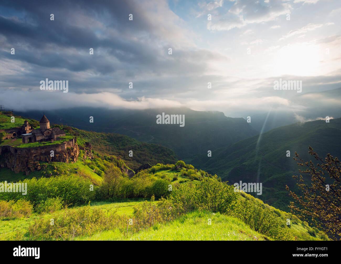 Eurasia, Caucasus region, Armenia, Syunik province, Tatev monastery Stock Photo