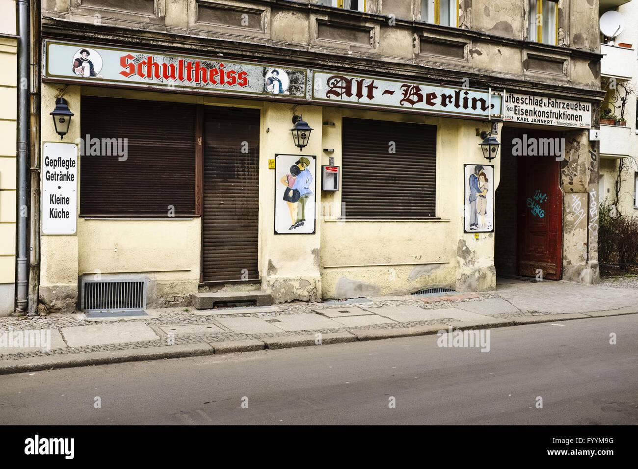 Berlin Germany Old Berlin Pub Stock Photos & Berlin Germany Old ...