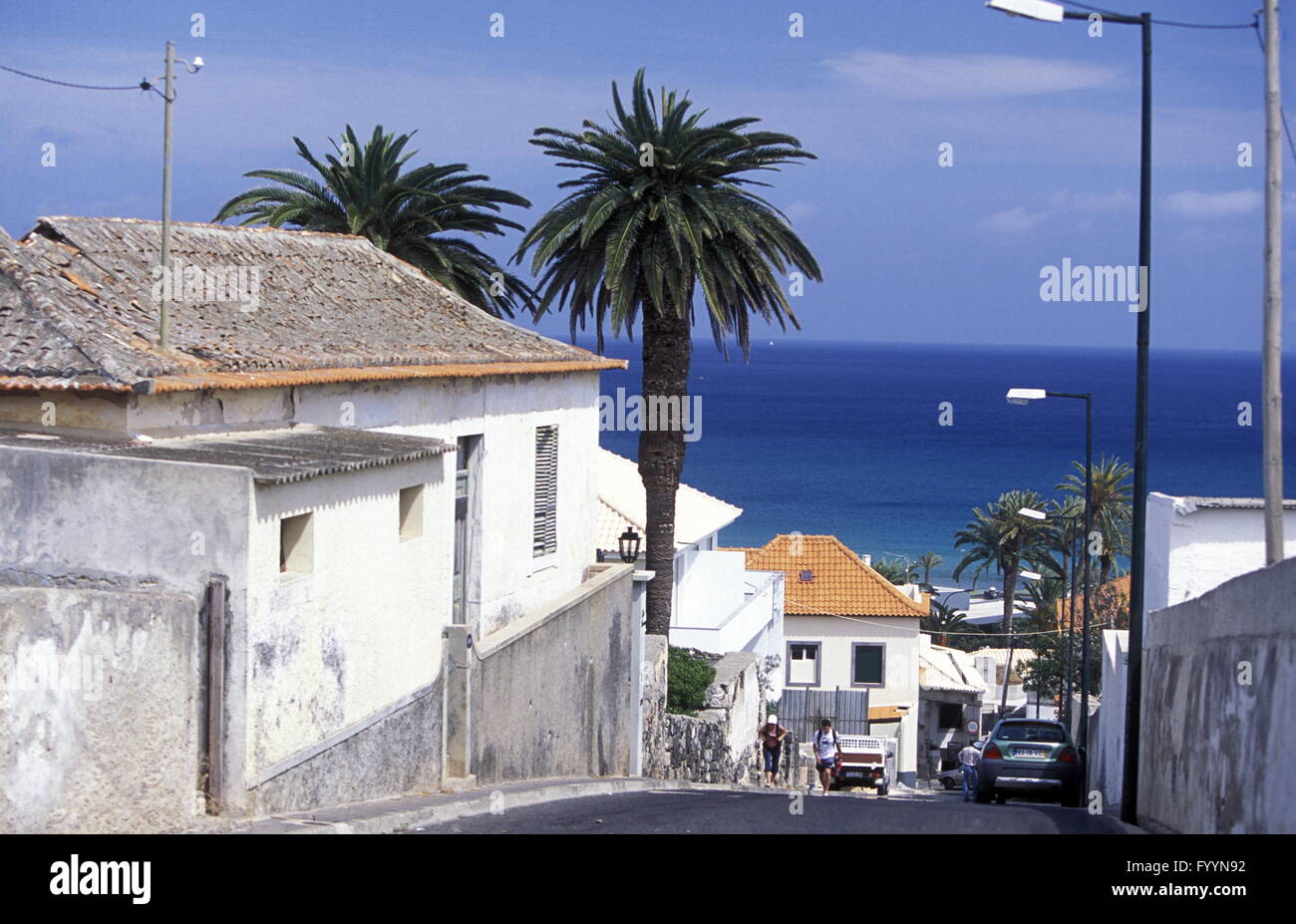 EUROPE PORTUGAL MADEIRA PORTO SANTO Stock Photo