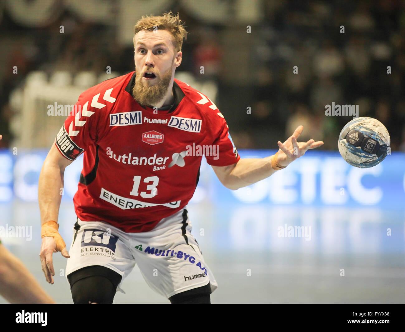 Chris Jörgensen (Aalborg Handbold) - Stock Image
