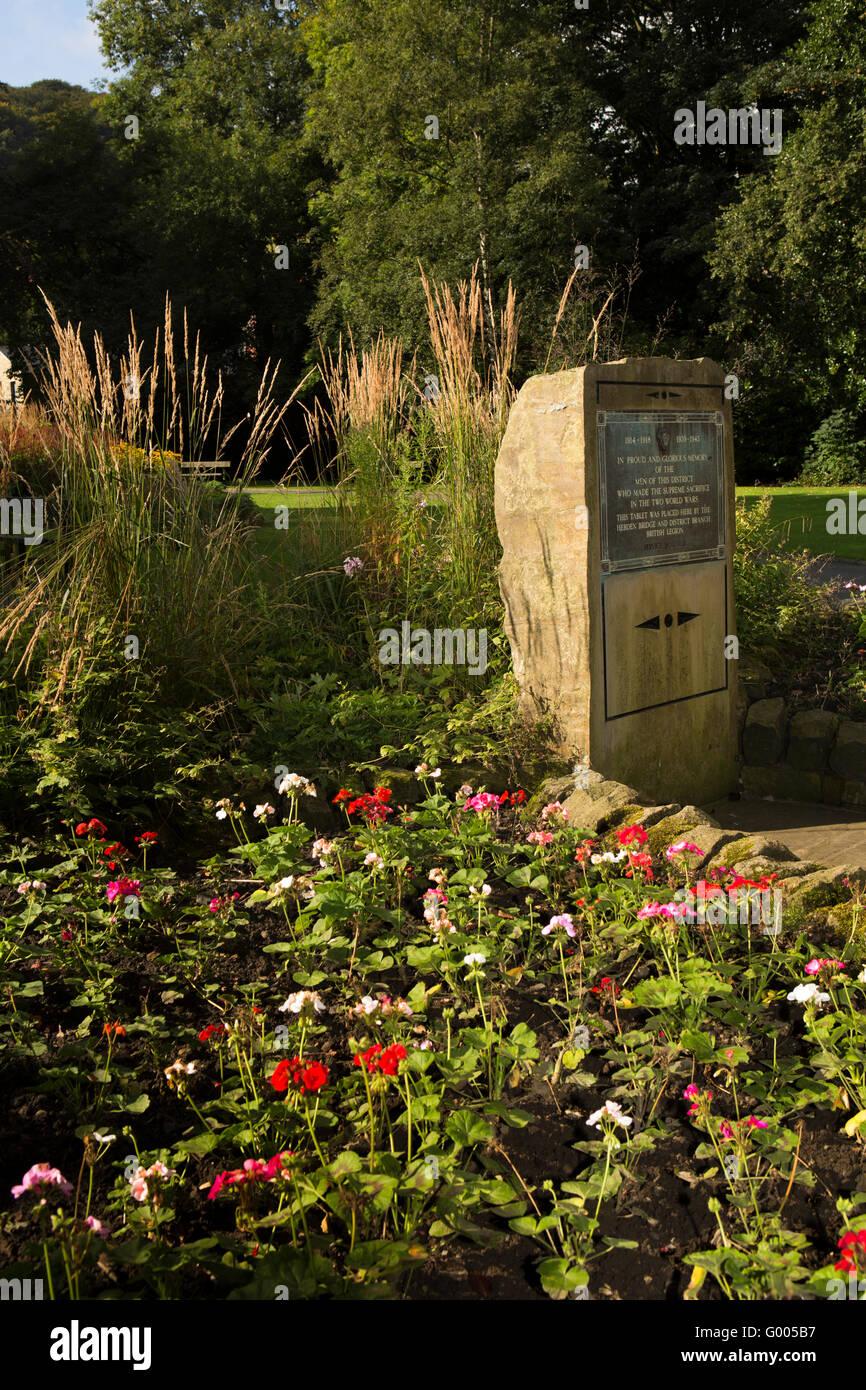 Town War Memorial Garden Stock Photos & Town War Memorial Garden ...