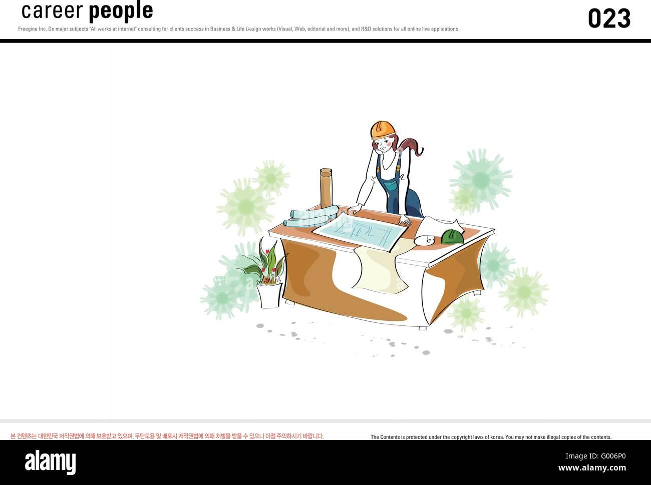 Jobs (23) - Stock Image