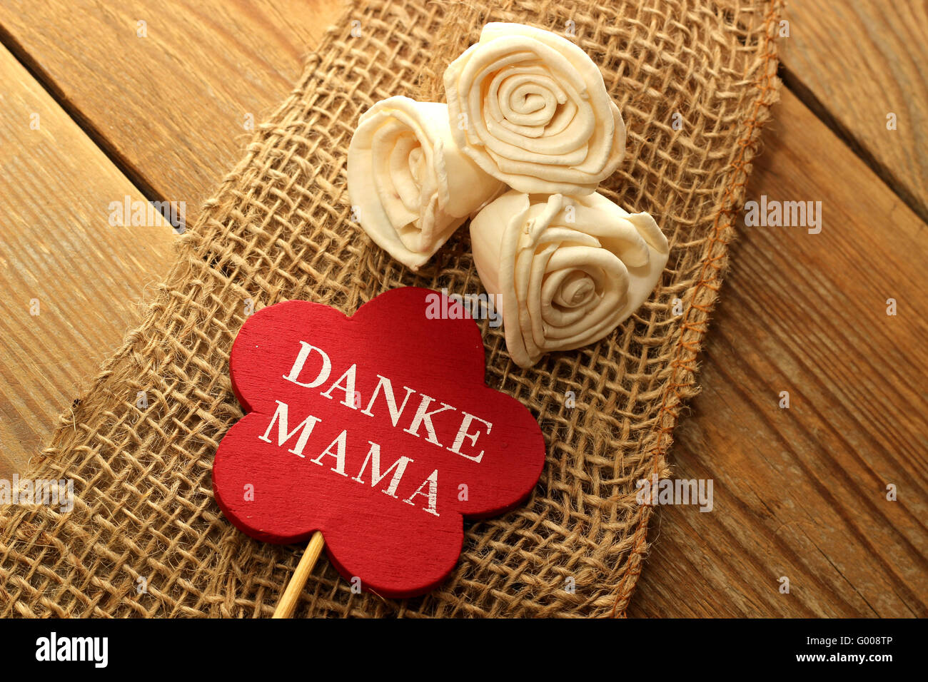 Mother's Day - Thank You Mama - Stock Image