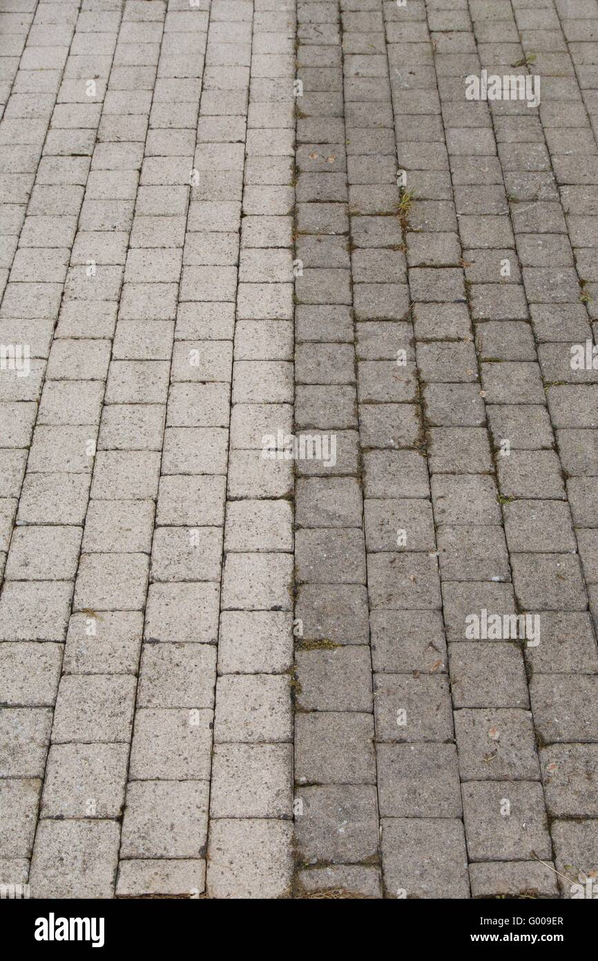 High Pressure Cleaning - Stock Image