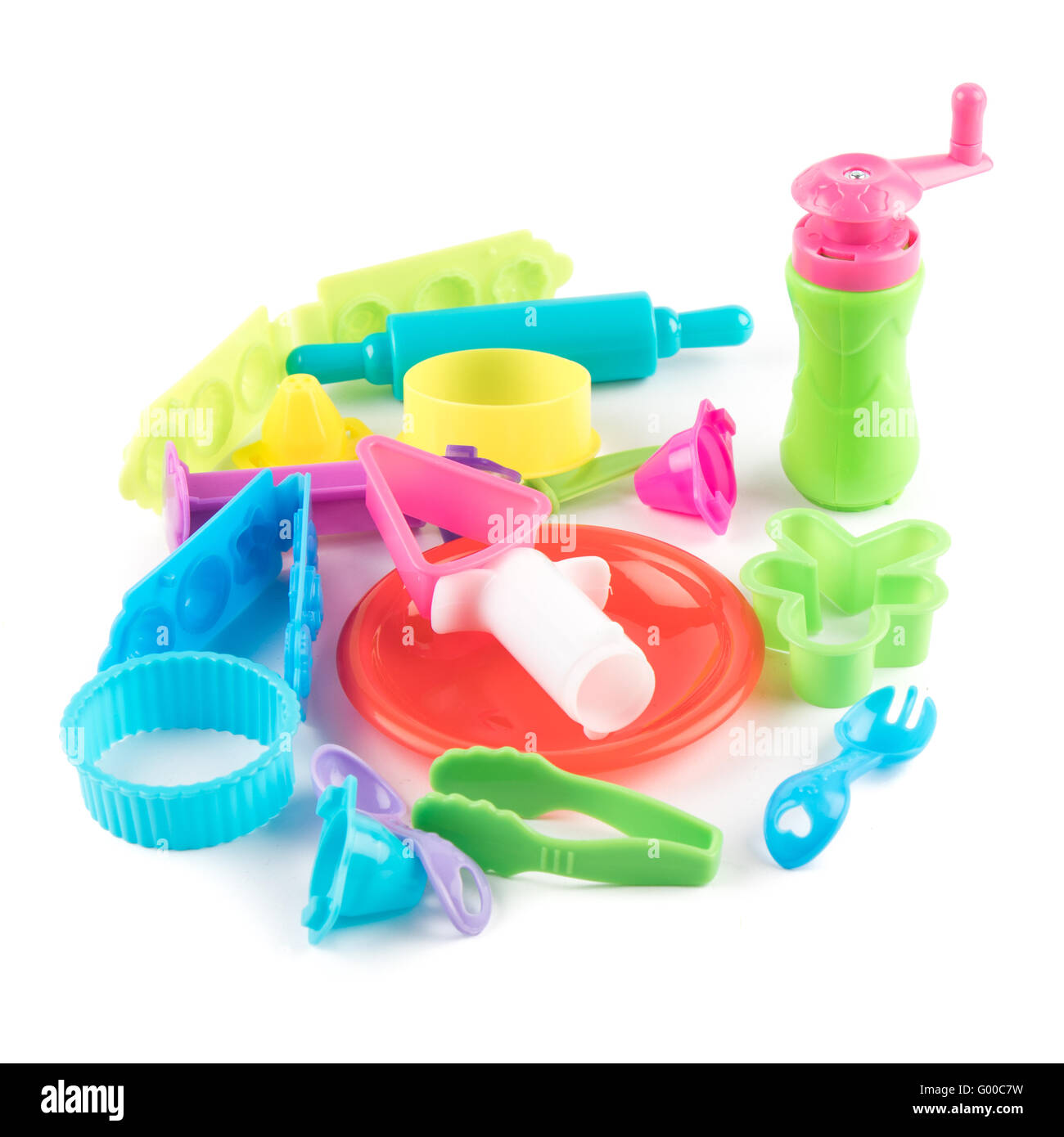 modelling creative set for children - Stock Image