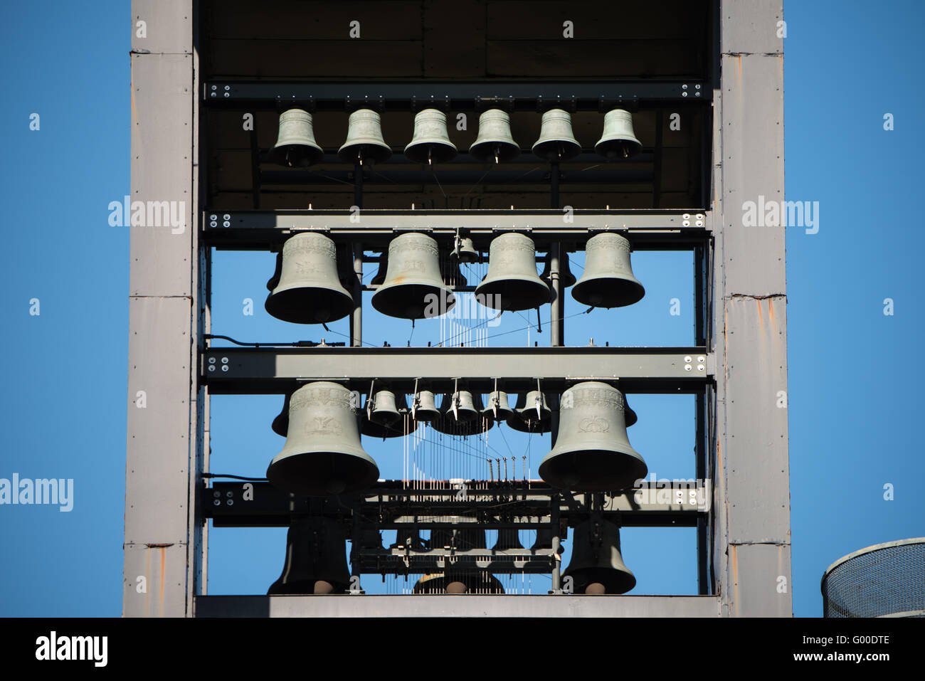 ARLINGTON, VIRGINIA - The Netherlands Carillon, a gift from the Netherlands to the United States in gratitude for Stock Photo